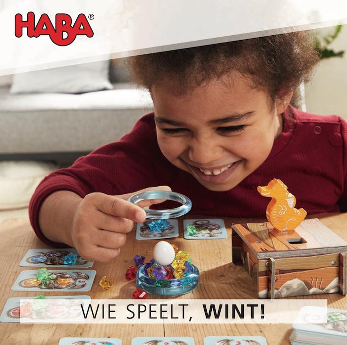 Haba Spellenfolder - wie speelt die wint